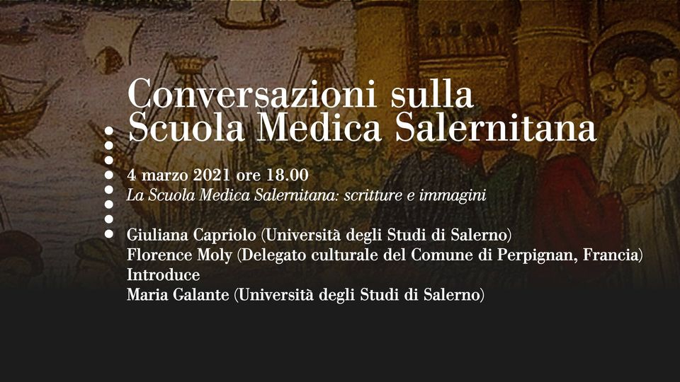 SALERNO MEDICAL SCHOOL TALKS KEEP GOING